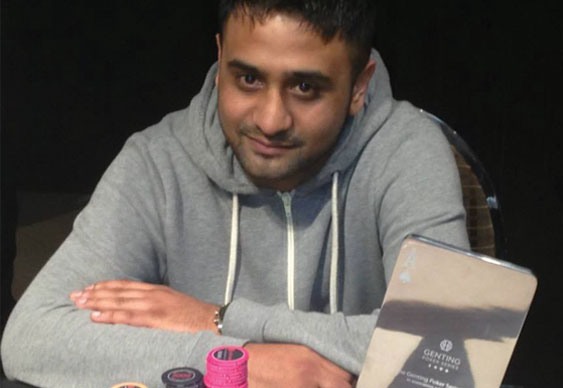 Mudassar Hussain wins Genting Poker Series Sheffield