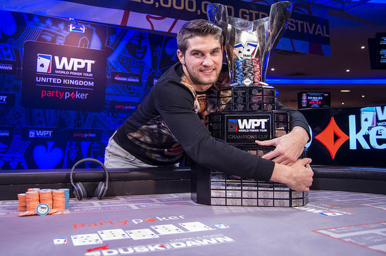 Matas Cimbolas wins WPT UK