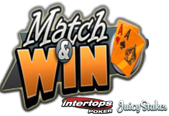 Match & Win at Intertops & Juicy Stakes