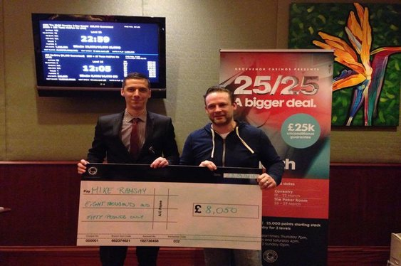 GUKPT 25/25 Wins for Peel / Ramsay