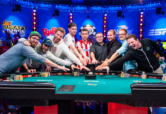 10 Million Dollars. Nine players. One winner.