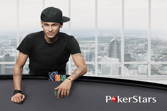 Neymar Joins PokerStars