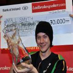 Niall Smyth wins Ladbrokes Irish Poker Festival