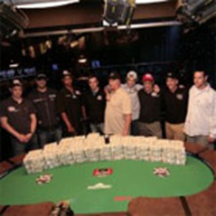 Final Table of the Main Event is set