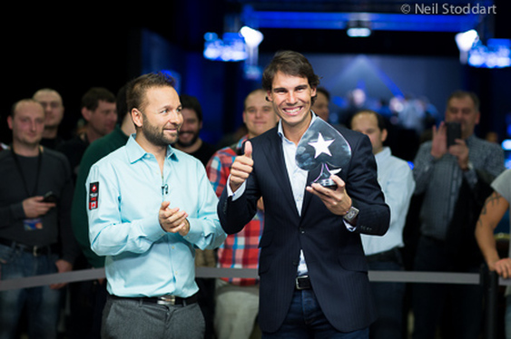 Nadal Aces His First Poker Tournament