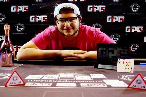 Raul Martinez Wins GUKPT Reading