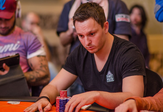 Sam Trickett at WPT Venice Final Table