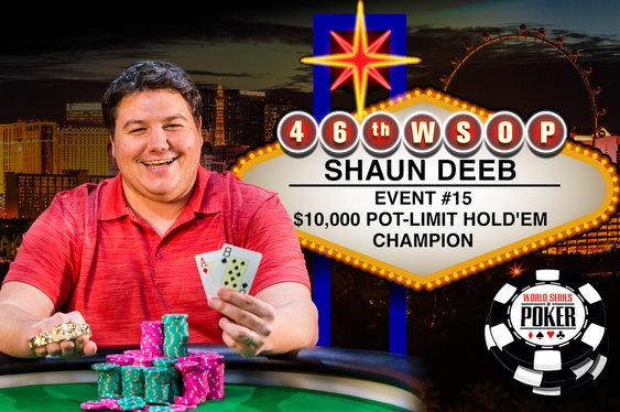 Shaun Deeb Breaks WSOP Duck