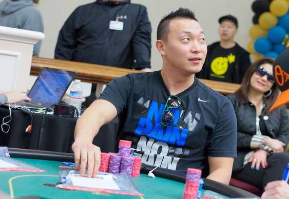 Steve Sung on Song in WPT Shooting Star Event