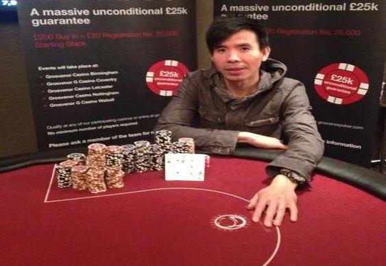 Tai Hoang Wins Grosvenor 25/25 Birmingham