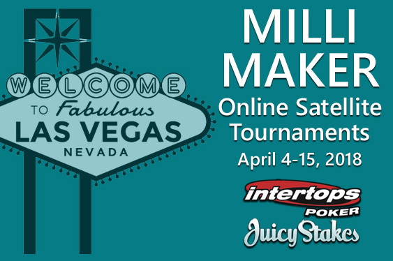 Pair continuing Vegas Milli Maker