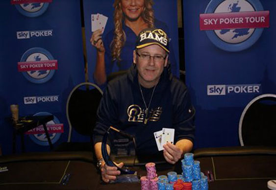Aaron Flamand wins Sky Poker Tour London