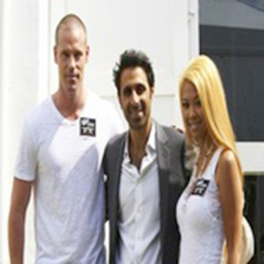 Patrik Antonius represents ISPT at  Partouche Poker Tour