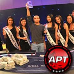 Un jugador local gana el APT Manila