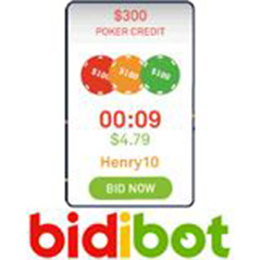 888.com credits now available at Bidibot.com