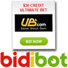 UB.com credits on offer at Bidibot.com