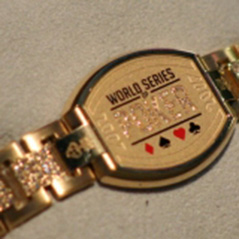 TJ Cloutier's 2005 WSOP bracelet for sale on eBay