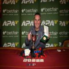 Brian Martin crowned APAT European champion