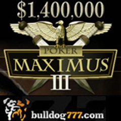 Poker Maximus III starts tomorrow