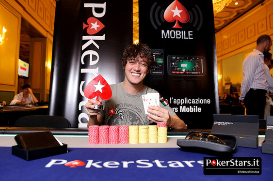 Dario Minieri Betrothed in PokerStars Outfit