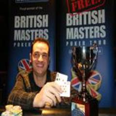 Dave Harris wins British Masters Poker Tour opener