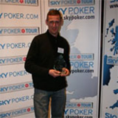 David Bryan wins Manchester leg of the Sky Poker Tour