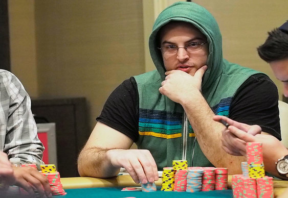 David Paredes Heads WPT Borgata Final Table