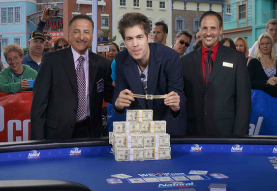 Dominink Nitsche wins first 2014 WSOP Bracelet