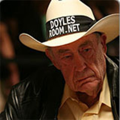 Doyle Brunson blogs about Poker Hall of Fame nominees
