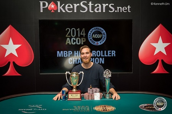 Fabian Quoss' Asian  High Roller Win