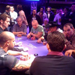 WSOPE Main Event Final Table: Players on a break