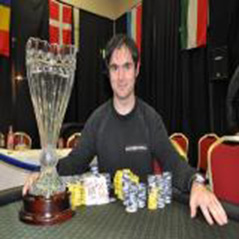 Frederic Brunet is European Deepstack champion