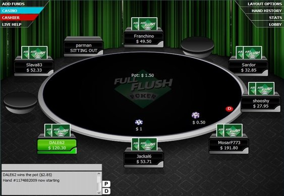 FullFlushPoker Completes Integer Acquisition