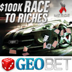$100k on offer at GEOBet Poker in July Race To Riches