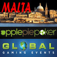 Trips to Malta on offer from Apple Pie Poker
