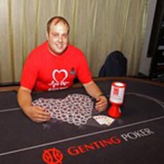 Poker player shows charitable side