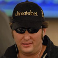 Hellmuth rides a hotdog on water (maybe)?