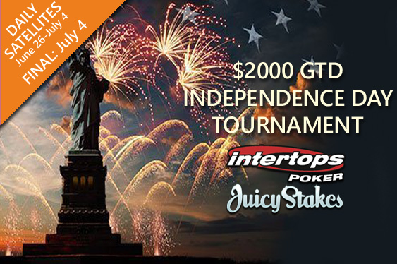 $2000 GTD Independence Day Tournament