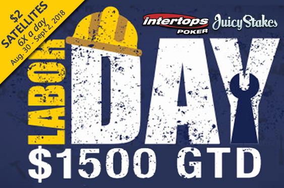 $1500 GTD Labor Day Poker Tournament