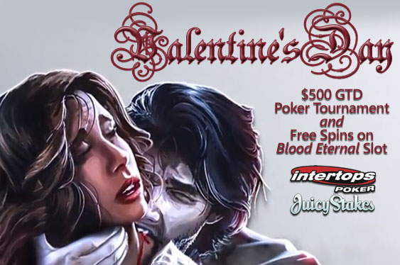 Saint Valentine's Day poker tournament
