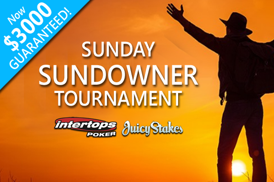 Sunday Sundowner prize pools rise