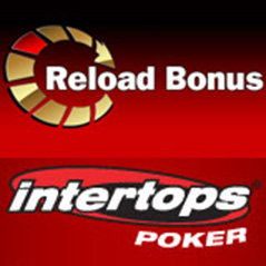 $300 reload bonus at Intertops Poker