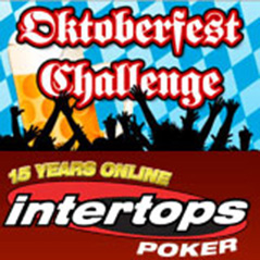 Over $20k up for grabs in Intertops Poker's Oktoberfest celebration