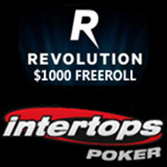 $1,000 freeroll at Intertops Poker tonight