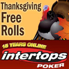 Five fantastic freerolls this weekend from Intertops Poker