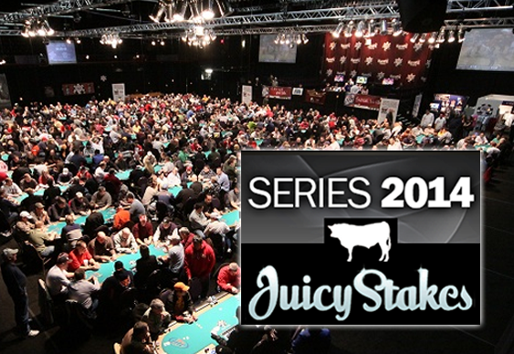 Juicy Stakes Poker Offers WSOP Seats