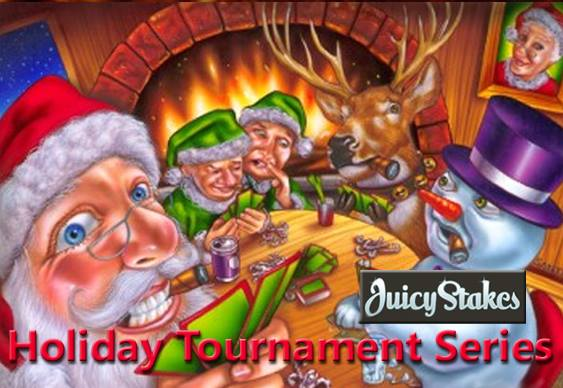 Expanded Holiday Tournament Line Up from Juicy Stakes