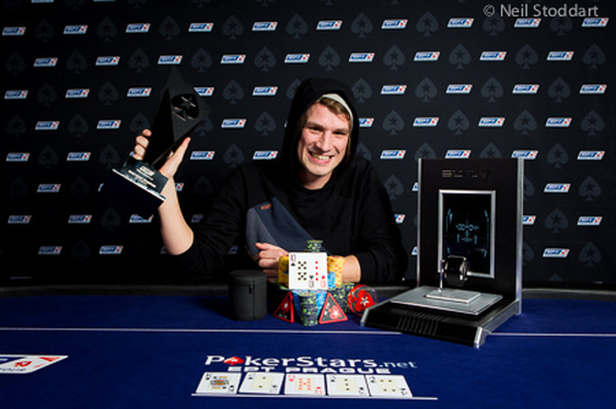 Julian Track wins EPT Prague