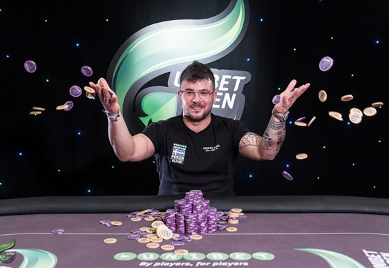 Kassem Yassine takes latest Bluff Rankings Event