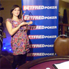 Paul Jackson's daughter wins latest leg of Betfred Ladies' Poker Tour